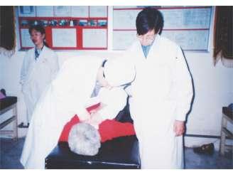 颈椎病手法复位